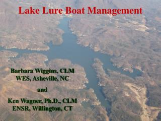 Lake Lure Boat Management