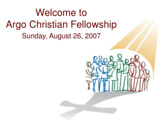 Welcome to Argo Christian Fellowship