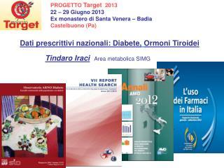 PROGETTO Target 2013  22 – 29 Giugno 2013    Ex monastero di Santa Venera – Badia