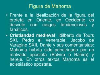 Figura de Mahoma