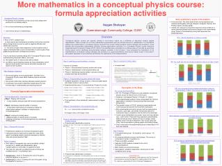 More mathematics in a conceptual physics course: formula appreciation activities