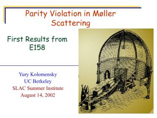 Parity Violation in Møller Scattering