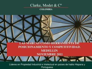 Líderes en Propiedad Industrial e Intelectual en países de habla Hispana y Portuguesa