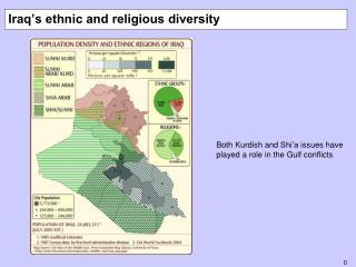 Iraq's ethnic and religious diversity