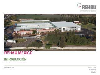 REHAU MEXICO