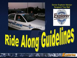 Ride Along Guidelines