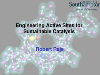 Engineering Active Sites for Sustainable Catalysis