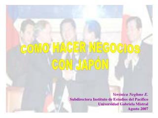 COMO HACER NEGOCIOS CON JAPÓN