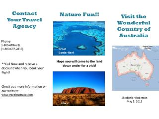 Contact  Your Travel Agency