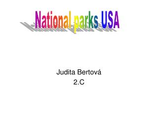 Judita Bertová  2.C