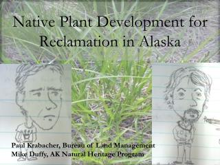 Native Plant Development for Reclamation in Alaska