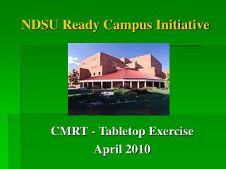 NDSU Ready Campus Initiative