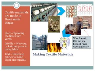Making Textile Materials
