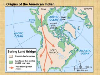 I. Origins of the American Indian