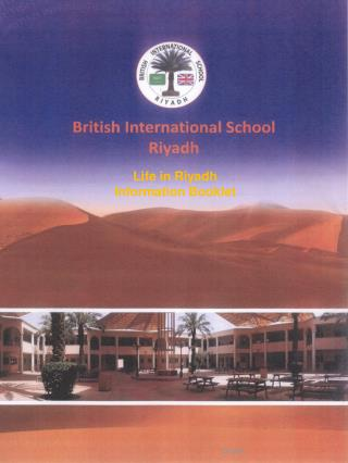 Life in Riyadh Information Booklet