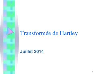 Transform�e de Hartley