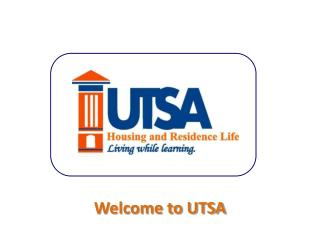 Welcome to UTSA