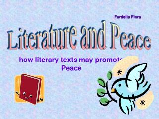 how literary texts may promote Peace
