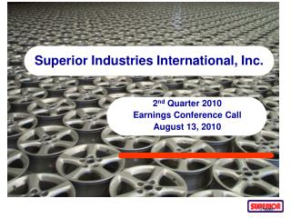 Superior Industries International, Inc.