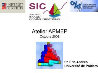 Atelier APMEP Octobre 2008