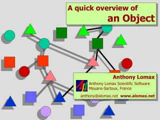 A quick overview of an Object