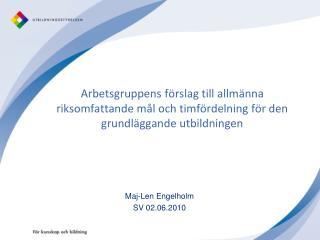 Maj-Len Engelholm SV 02.06.2010
