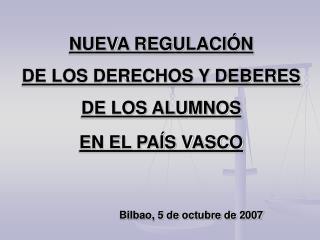 Referencias legales a derechos y deberes de los alumnos(1)