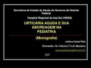 Secretaria de Estado de Saúde do Governo do Distrito Federal