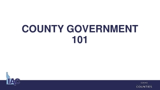 County Revenue Sources