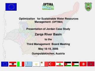 Optimization � for Sustainable Water Resources Management (OPTIMA)