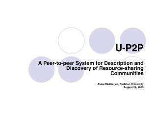 U-P2P