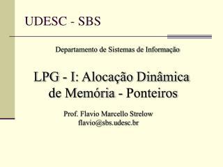 UDESC - SBS