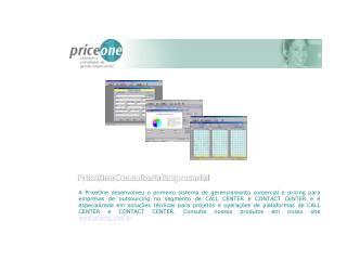 PriceOne Consultoria Empresarial