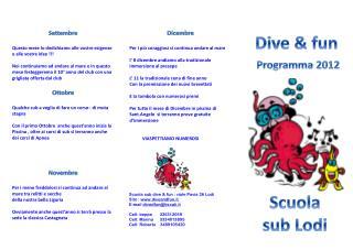 Dive &  fun