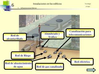 Instalaciones en los edificios