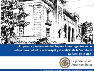Oficina de Servicios Generales / Secretar�a de Administraci�n y Finanzas