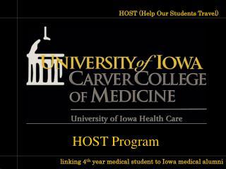 HOST Program