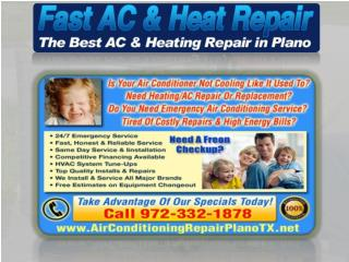 Air Conditioning Repair Plano Tx