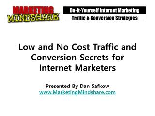Traffic & Conversion Strategies