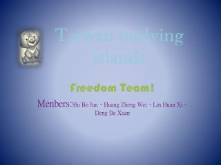 Taiwan outlying islands