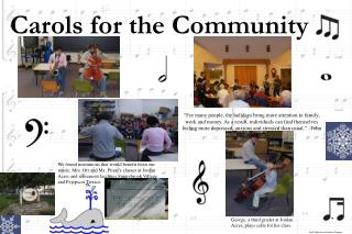 Carols for the Community
