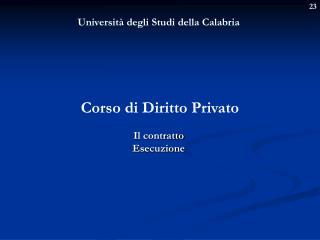 Università degli Studi della Calabria