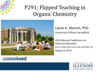 P291: Flipped Teaching in Organic Chemistry
