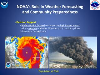 NOAA's Role in Weather Forecasting and Community Preparedness