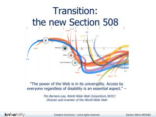 Transition: the new Section 508