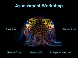 Assessment Workshop