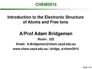 CHEM2915