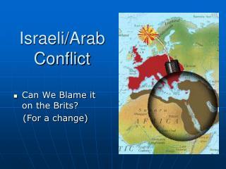 Israeli/Arab Conflict