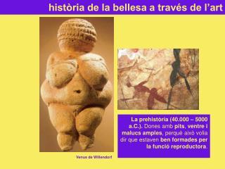 història de la bellesa a través de l'art