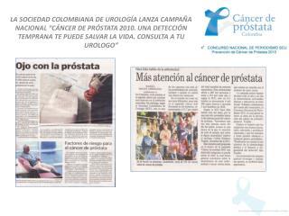 Publicaciones Cancer de Prostata